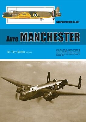 NEW Warpaint Series Books 103 Avro Manchester , used for sale  Lowestoft