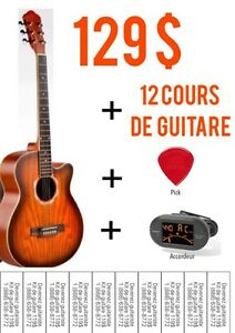 Guitare + cours