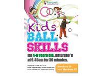 Kid's Ball Skills Classes - For Squash