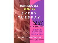 Hair Model Wanted!