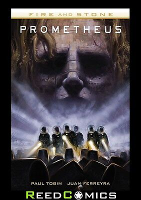 PROMETHEUS FIRE AND STONE GRAPHIC NOVEL New Paperback Collects Issues #1-4
