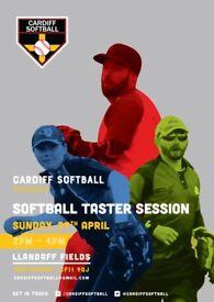 Cardiff Softball Taster Session - Sunday 29th April at Llandaff Fields, 2-4pm