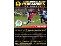 U11-12 Female goal keeper required