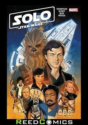 SOLO A STAR WARS STORY ADAPTATION GRAPHIC NOVEL Paperback Collects 7 Part Series