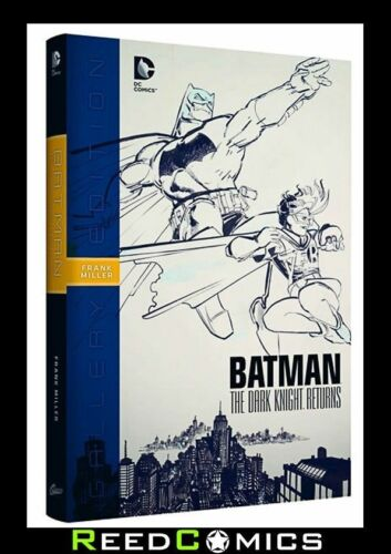 BATMAN DARK KNIGHT RETURNS GALLERY EDITION OVER-SIZED HARDCOVER ARTIST HARDBACK