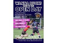 Ladies Rugby Open day