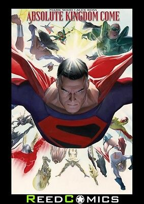 ABSOLUTE KINGDOM COME HARDCOVER (340 Pages) NEW EDITION SLIPCASE HARDBACK