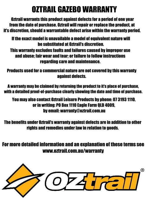 3m x 3m Oztrail Gazebo TENT INNER KIT Deluxe G-OZTIK3.0  sc 1 st  eBay & 3m x 3m Oztrail Gazebo TENT INNER KIT Deluxe G-OZTIK3.0 | eBay