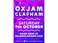 Photographers and Videographers wanted for Oxjam Clapham