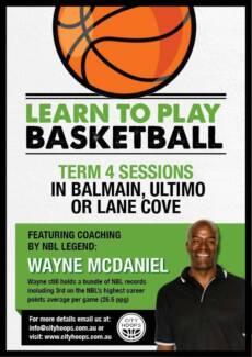 Learn to play basketball sessions - Lane Cove, Balmain, Glebe Lane Cove Lane Cove Area Preview