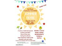 Mount community association summer fayre 2017