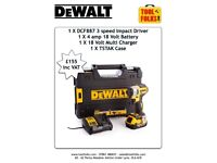 Dewalt 3 speed dcf887 impact kit