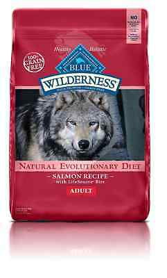 Wilderness Blue Buffalo High Protein Dry Adult Dog Food 24 lb