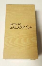 SAMSUNG GALAXY S4 16GB GOLD | BLACK SEALED SIM FREE UNLOCKED BOXED WITH ALL ACCESSORIES- REFURBISHED