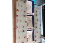 3 BARRY MANILOW TICKETS - 02 Friday s 7th Sept