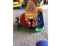Peppa pig weeble wobble playhouse