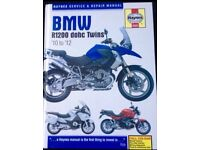 BMW motorcycle manual