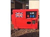 Diesel generator 19,5 KVA Perkins key start