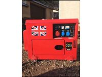 19,5 KVA Perkins diesel generator key start