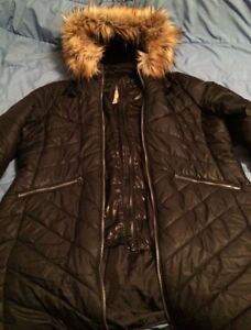 2X  woman's winter down  filled jacket