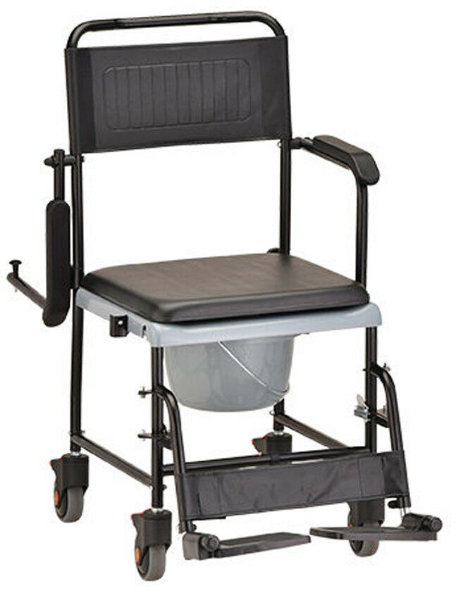 NOVA Medical Products 8805 Drop Arm  Transport Chair Commode
