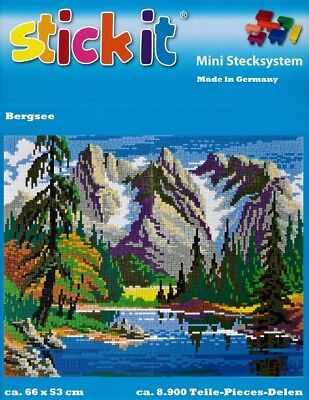Mini Stecksystem Bergsee ca. 8.900 Teile Nr. 41210