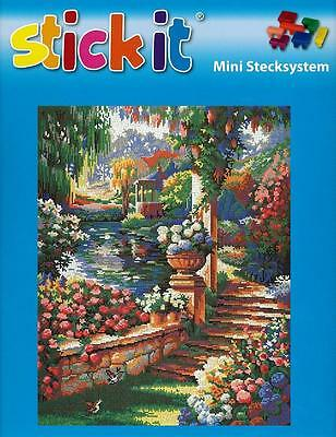 "Mini Stecksystem ""Gartenparadies"" XXL Format ca. 22.000 Teile Nr. 41227"