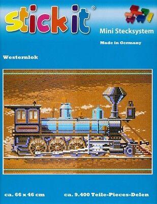Mini Stecksystem Westernlok ca. 9.400 Teile Nr. 41145