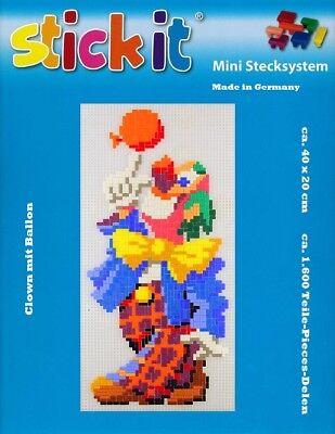 Mini Stecksystem Clown mit Ballon ca. 1.600 Teile Nr. 41112
