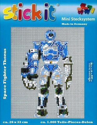 Mini Stecksystem Space Fighter 4 ca. 1.000 Teile mit Metallic Steine Nr. 42130
