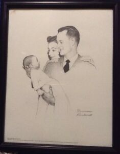 7 Norman Rockwell Signed Limited Edition Print