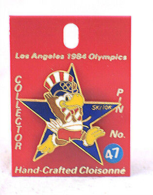 1984 Los Angeles Olympics Pin with Sam Eagle # 47