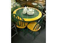 Table and 4 Chairs #31531 £120