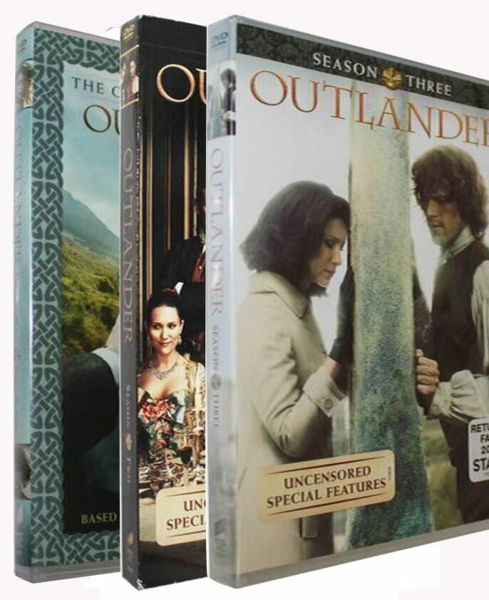 Outlander Complete Seasons 1, 2 & 3 (DVD SET 1-3) Region-1
