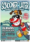 Schooner or Later punk cruise Ticket Redfern Inner Sydney Preview