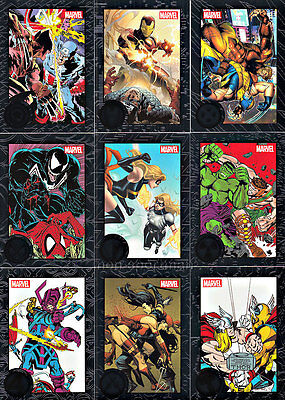 MARVEL GREATEST BATTLES SET OF 90 CARDS