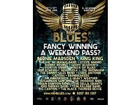 HRH BLUES - 2 DAY PASS FOR 6 PEOPLE - O2 ACADEMY SHEFFIELD