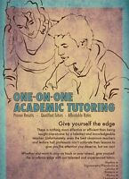 Tutoring high school and university level math,physics,chemistry