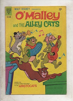 WALT DISNEYS  'O'MALLEY AND THE ALLEY CATS ' G.550 BY W.G PUBLICATIONS 1973