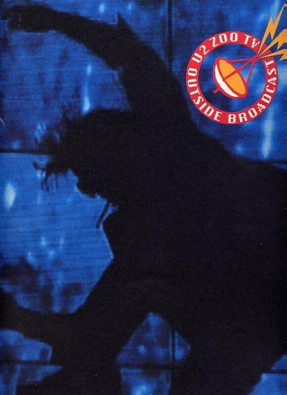 U2 1992 ZOO TV TOUR USA CONCERT PROGRAM BOOK / BONO / THE EDGE / NEAR MINT