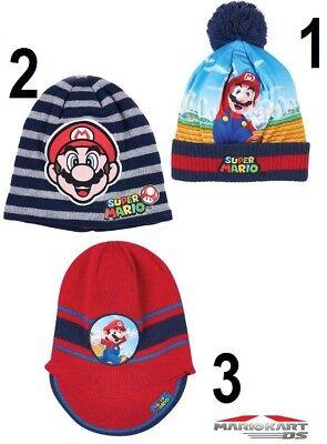 ap Wintermütze Hut Mütze Kopfbedeckung Größe 52 - 54 NEU (Super Mario Hut)