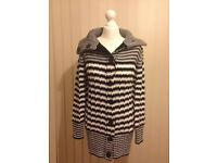 NEW M&Co Chunky Knit Cardigan Size Medium/12