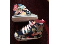 6-12 Month personalised 'Olivia' shoes