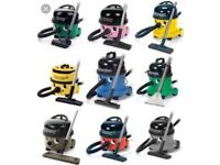 Henry Hetty & Numatic Hoovers wanted non working/working