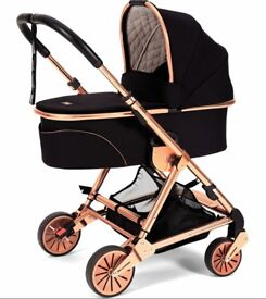Mamas and papas rose gold urbo