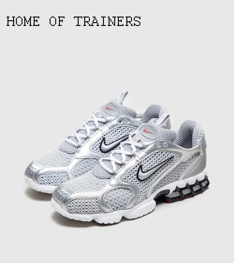 Nike Air Zoom Spiridon Cage 2 grau weiß Herren Turnschuhe Alle Größen