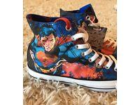 Superman Converse Size 7