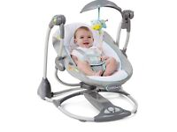 Baby swing. Bright starts 2 in 1