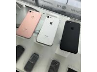 iPHONE 7 32GB, WITH SHOP RECEIPT & WARRANTY, [GOOD CONDITION], ALL COLOURS & NETWORKS