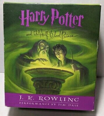Harry Potter and the Half Blood Prince Audio Book on 17 CD'S